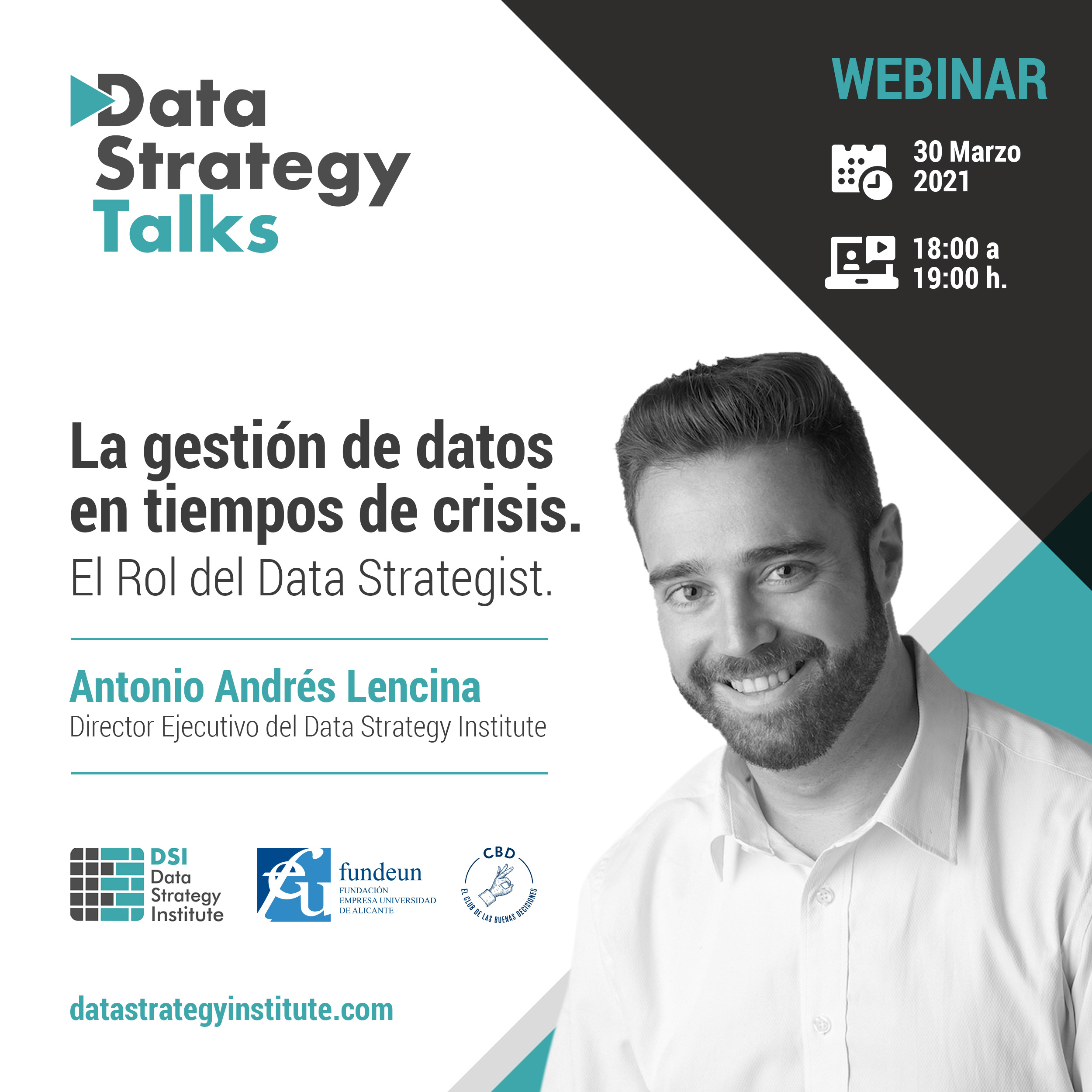 La gestión de datos en tiempos de crisis. El Rol del Data Strategist | Data Strategy Talks