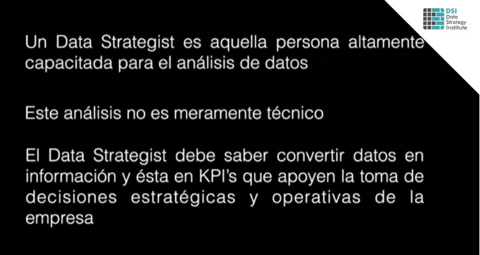 El Rol del Data Strategist en tiempos de crisis | Data Strategy Talks