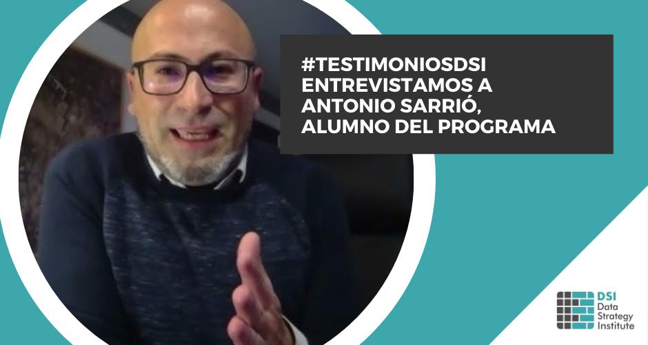 #TestimoniosDSI | Antonio Sarrió | Solution Manager | Suominen Corporation