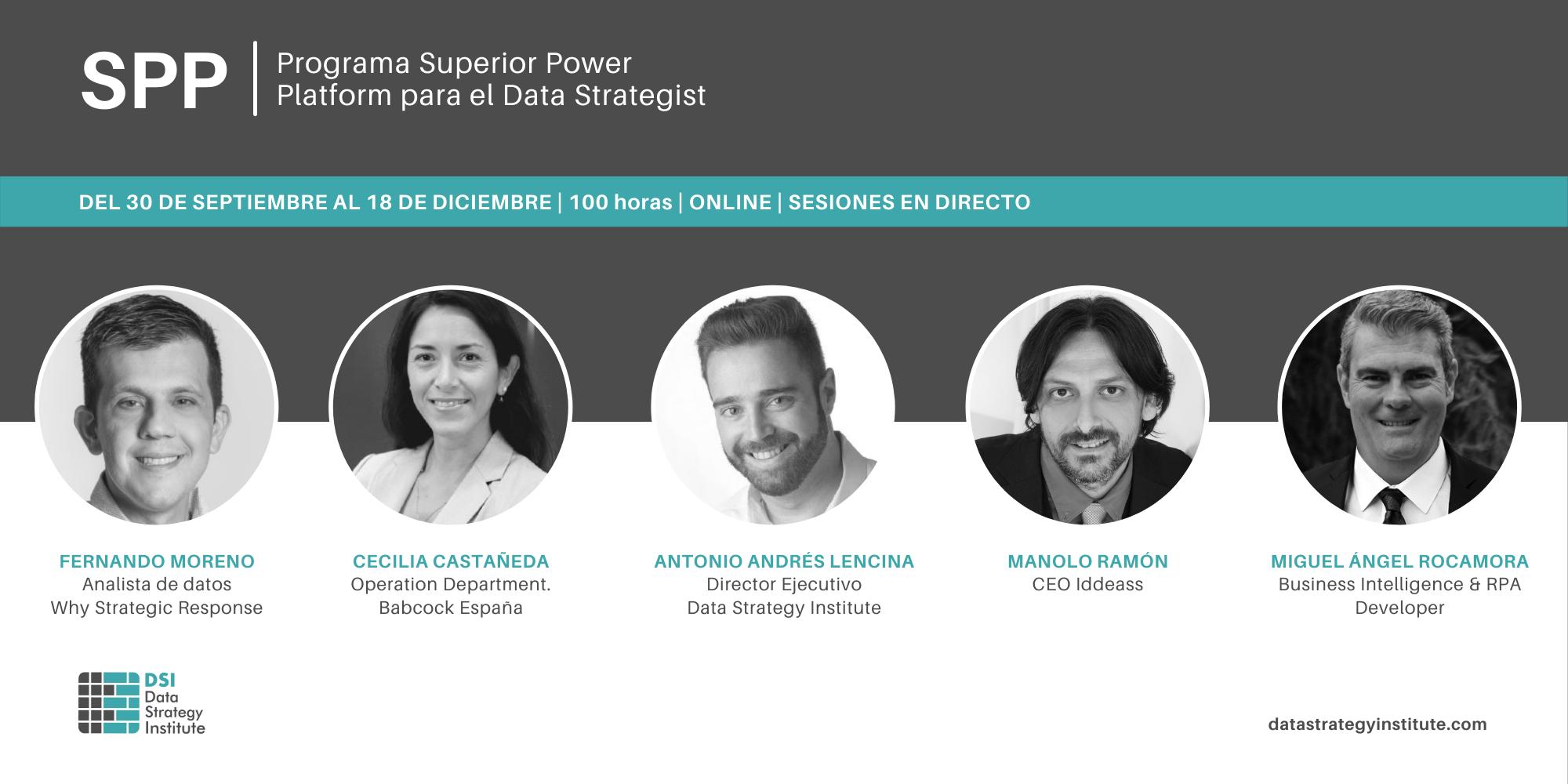 Nuevo lanzamiento: Programa Superior Power Platform para el Data Strategist
